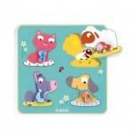 Wooden Jigsaw Puzzle - Mamifarm