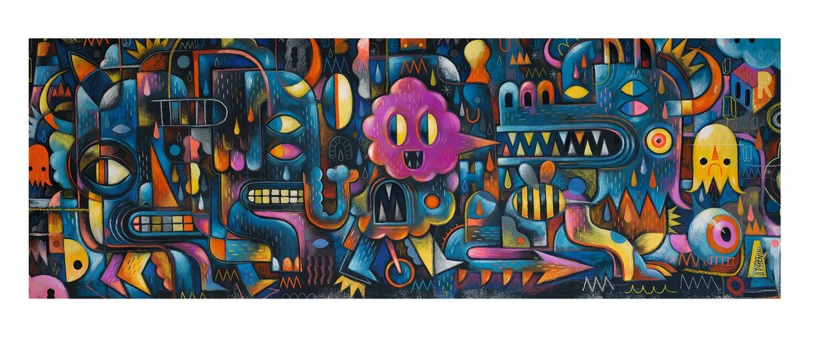 Puzzles Gallery Monster Wall Djeco
