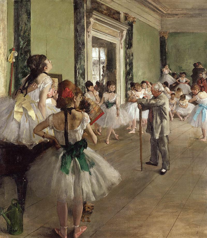 Degas Edgar: The Dance Class