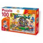 Puzzle  Deico-Games-61492 The 3 Little Pigs