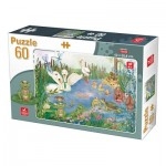 Puzzle  Deico-Games-76496 Lake Animals