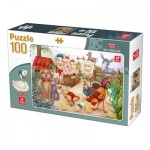 Puzzle  Deico-Games-76502 Farm Animals
