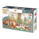 Puzzle  Deico-Games-76519 Forest Animals
