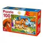 Puzzle  Deico-Games-76588 Farm Animals