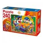 Puzzle  Deico-Games-76595 Snow White and the 7 Dwarfs