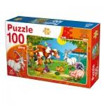 Puzzle  Deico-Games-76601 Farm Animals