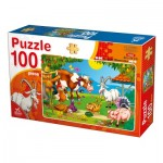 Puzzle  Deico-Games-76601 Farm Animals
