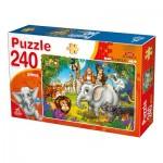 Puzzle  Deico-Games-76632 Wild Animals
