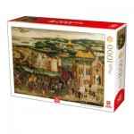 Puzzle  Deico-Games-76670 Royal Collection - Field of the Cloth of Gold