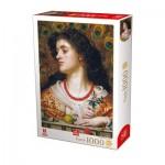 Puzzle  Deico-Games-76724 Frederick Sandys - Vivien