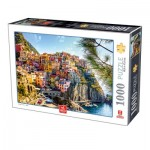 Puzzle  Deico-Games-76809 Cinque Terre - Italy