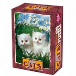DToys-50199-CT03 Jigsaw Puzzle - 54 Pieces - Cute Duo !
