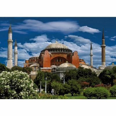Dtoys-50328-AB04-(69252) Jigsaw Puzzle - 500 Pieces - Landscapes : Hagia Sophia, Istanbul, Turkey