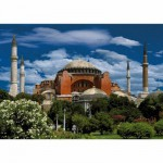 DToys-50328-AB04 Jigsaw Puzzle - 500 Pieces - Landscapes : Hagia Sophia, Istanbul, Turkey