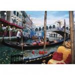 DToys-50328-AB10 Jigsaw Puzzle - 500 Pieces - Landscapes : Venice, Italy