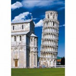 DToys-50328-AB11 Jigsaw Puzzle - 500 Pieces - Landscapes : Leaning Tower of Pisa, Italy