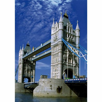 DToys-50328-AB16 Jigsaw Puzzle - 500 Pieces - Landscapes : Tower Bridge, London