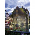 Dtoys-50328-AB33-(69320) Jigsaw Puzzle - 500 Pieces - Landscapes : Annecy