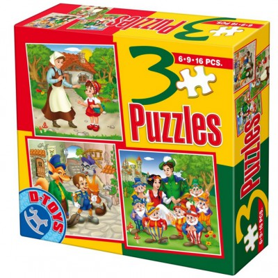 Puzzle Dtoys-50922-BS-07