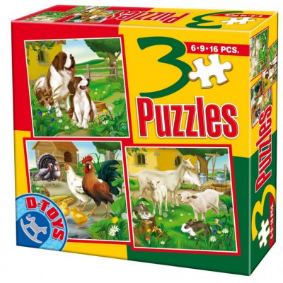 Puzzle Dtoys-60150-AL-01