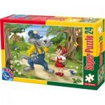 Puzzle  Dtoys-60372-PV-02 XXL pieces -Little Red Cap
