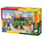 Puzzle  Dtoys-60389-PV-01 XXL pieces -Pinocchio