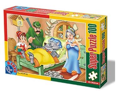 Puzzle Dtoys-60402-PV-02 XXL pieces -Little Red Cap