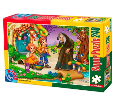 Puzzle Dtoys-60488-PV-06 XXL pieces -Hansel and Gretel