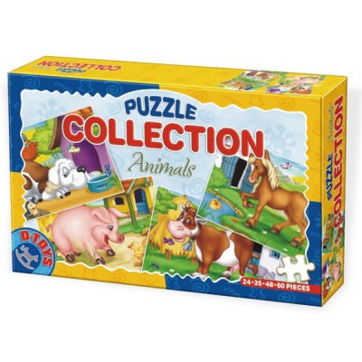 Dtoys-60518-CP-01 Farm puzzles