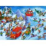 Puzzle  DToys-61218-CC05-(74713) Cartoon Collection - Winter