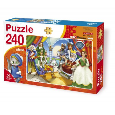 Puzzle Dtoys-61393-BA-01 Tales and Legends: the Chat Botté