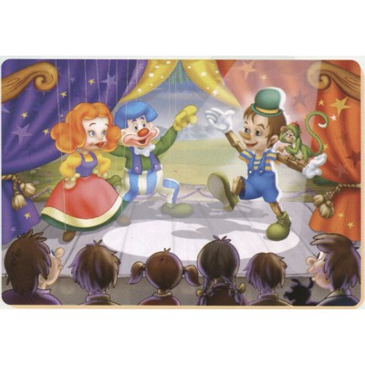 Puzzle Dtoys-61430-BA-01 Tales and Legends: the spectacle of Pinocchio