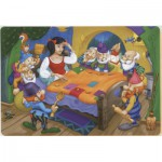 Puzzle  Dtoys-61454-BA-01 Color Me: Blanche Neige and the Seven Dwarfs + 2 drawings to colorize