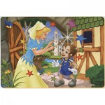 Puzzle  Dtoys-61454-BA-02 Color Me: Pinocchio and the fairy