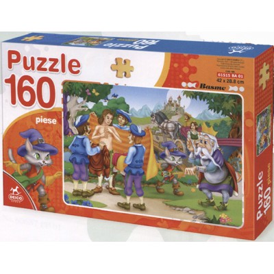 Puzzle Dtoys-61515-BA-01 Tales and Legends: the Chat Botté