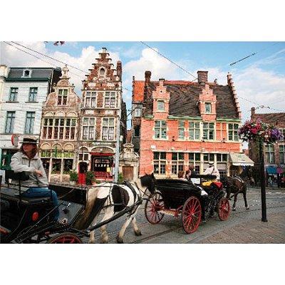 DToys-62154-EC08 Jigsaw Puzzle - 1000 Pieces - Landscapes : Gent, Belgium