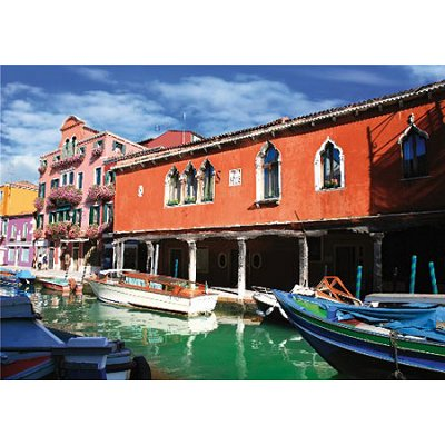 DToys-62154-EC11 Jigsaw Puzzle - 1000 Pieces - Landscapes : Murano, Italy