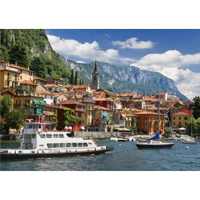 DToys-62154-EC12 Jigsaw Puzzle - 1000 Pieces - Landscapes : Lake Como, Italy