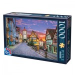 Puzzle  Dtoys-62154-EC17 Rothenburg, Germany