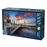 Puzzle  Dtoys-62154-EC18 Alexander III Bridge, Paris, France