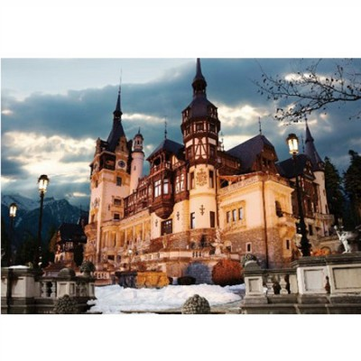 DToys-63038-MN07 Jigsaw Puzzle - 1000 Pieces - Romania : Peles Castle