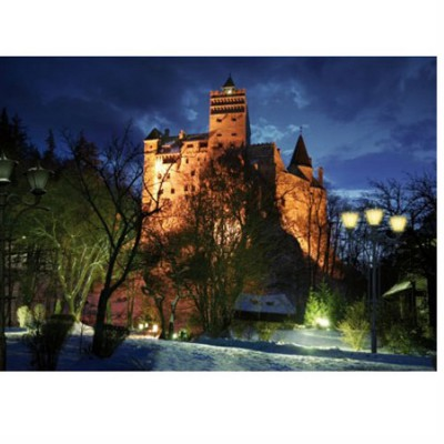 DToys-63038-MN09-(70746) Jigsaw Puzzle - 1000 Pieces - Romania : Bran Castle