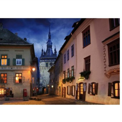 DToys-63038-MN10 Jigsaw Puzzle - 1000 Pieces - Romania : Schasburg, Sighisoara