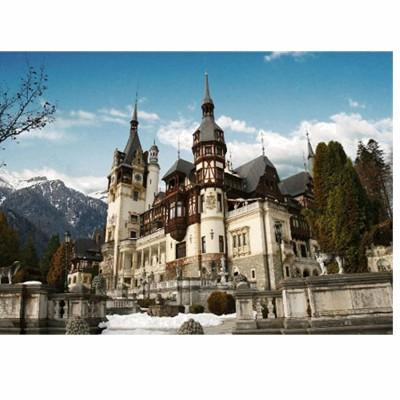 DToys-63052 Jigsaw Puzzle - 500 Pieces - Romania : Peles Castle
