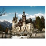 DToys-63052-RM01 Jigsaw Puzzle - 500 Pieces - Romania : Peles Castle