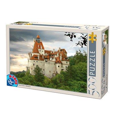 DToys-63052-RM02-(70678) Jigsaw Puzzle - 500 Pieces - Romania : Bran Castle