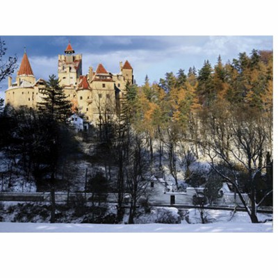 DToys-63052-RM05 Jigsaw Puzzle - 500 Pieces - Romania : Bran Castle