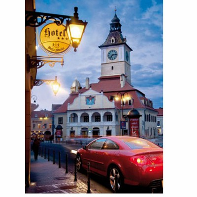 DToys-63052-RM06 Jigsaw Puzzle - 500 Pieces - Romania : Brasov / Kronstadt