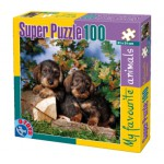 Puzzle  Dtoys-63106-FA-04 Puppies
