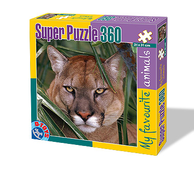 Puzzle Dtoys-63113-FA-03 The Lioness
